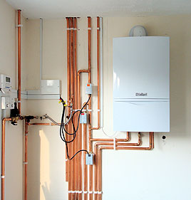 Heating services central heating services and repair in for Best central heating system for large house
